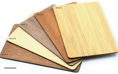 Holzmuster Karten